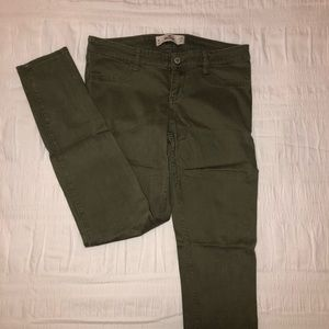 Hollister Army Green Jeans